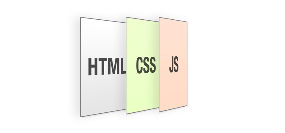 As 3 camadas do front-end da web